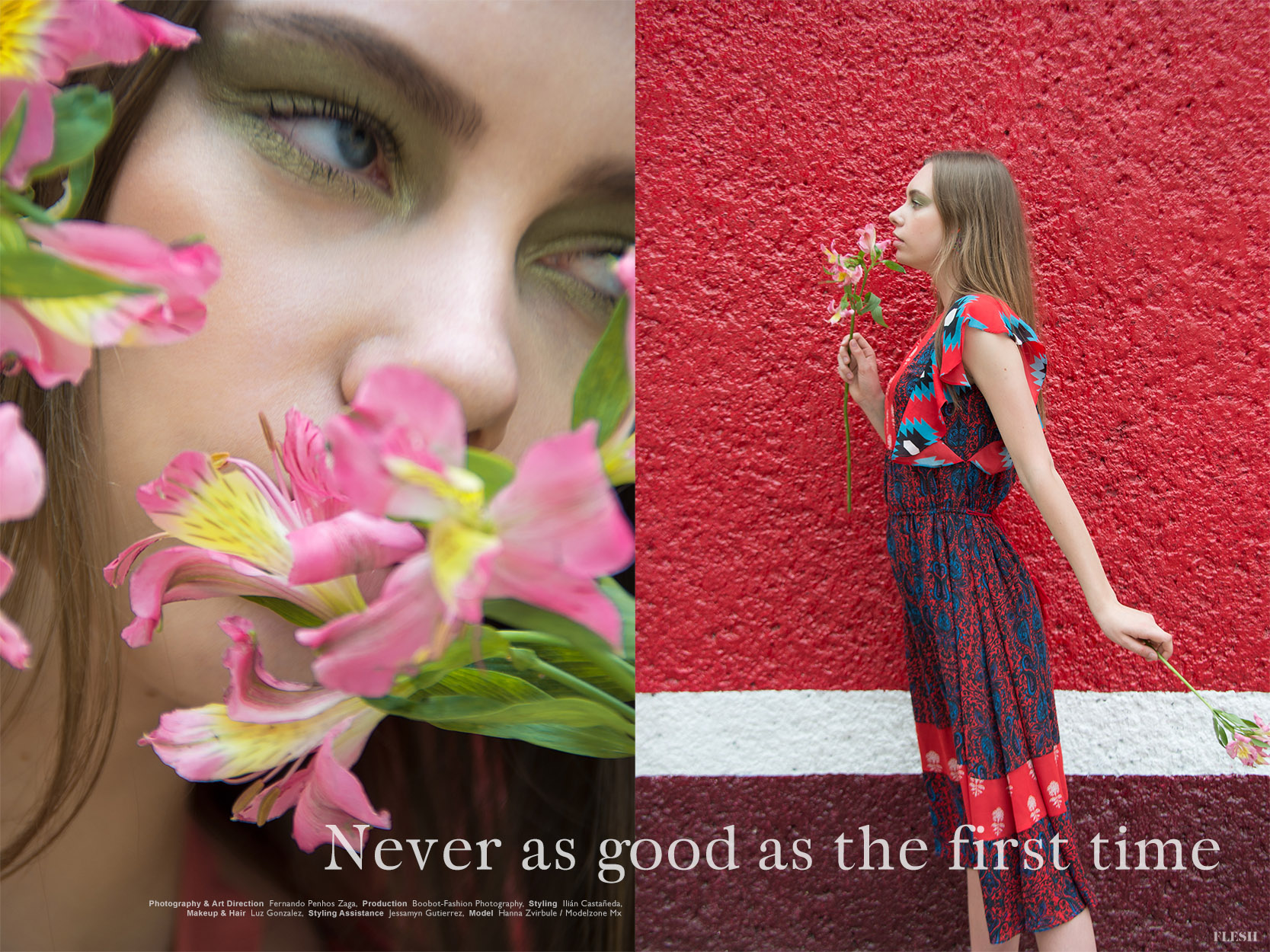 Never As Good As The First Time Editorial Flesh Magazine